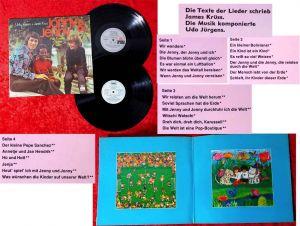 2LP Udo Jürgens: Jonny & Jenny Alle Kinder dieser Welt (Ariola) D 1972