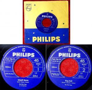 Single Five Tops: Glaub daran (Philips 345 786 PF) D