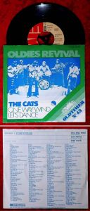 Single Cats: One Way Wind / Let´s Dance (Oldies Revival Series) D