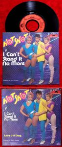 Single Hot Shot: I Can´t Stand it no more (Polydor 811 522-7) D 1983