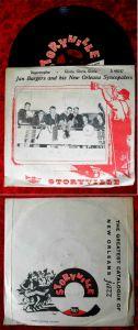 Single Jan Burgers & New Orleans Syncopaters: Regentropfen (Storyville A 45035)