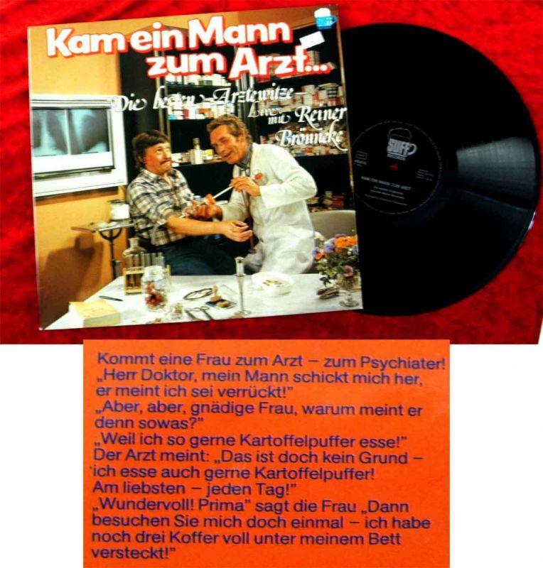 LP Reiner Brönneke: Kam ein Mann zum Arzt... (Suff 40.015) D 1976