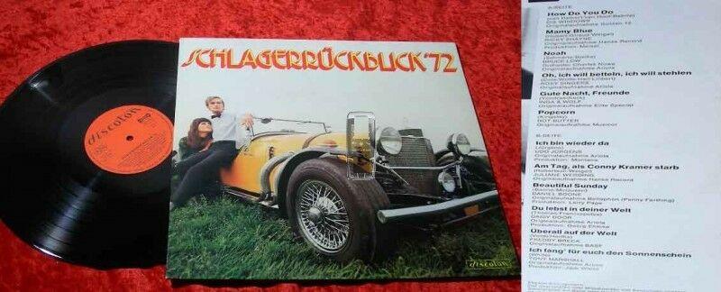 LP Schlagerrückblick '72