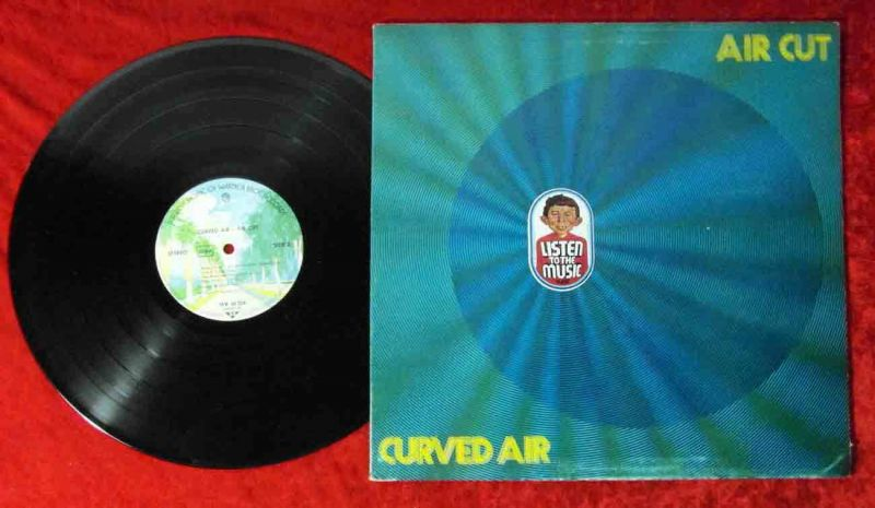 LP Curved Air: Air Cut  (Warner Bros. 46 224) D