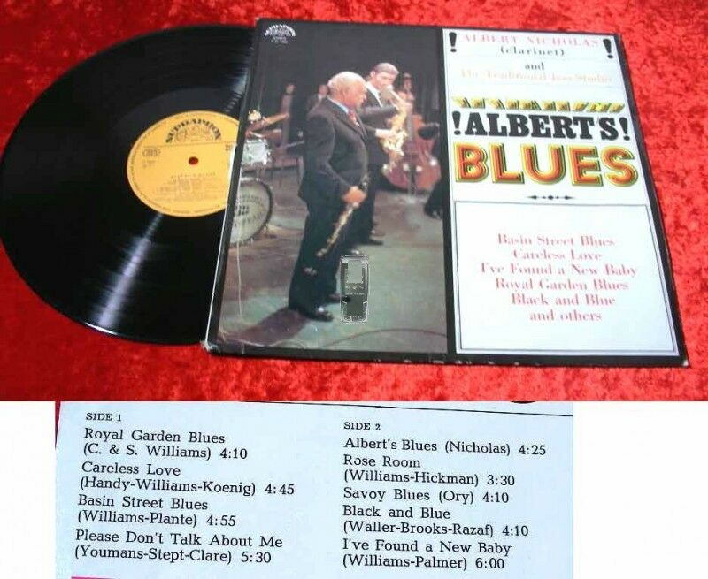 LP Albert Nicholas: Albert's Blues
