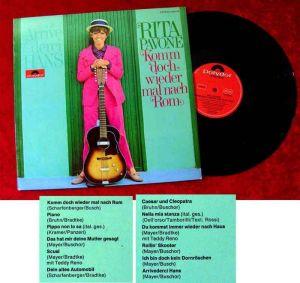 LP Rita Pavone: Komm doch wieder mal nach Rom (Polydor 249 279) D