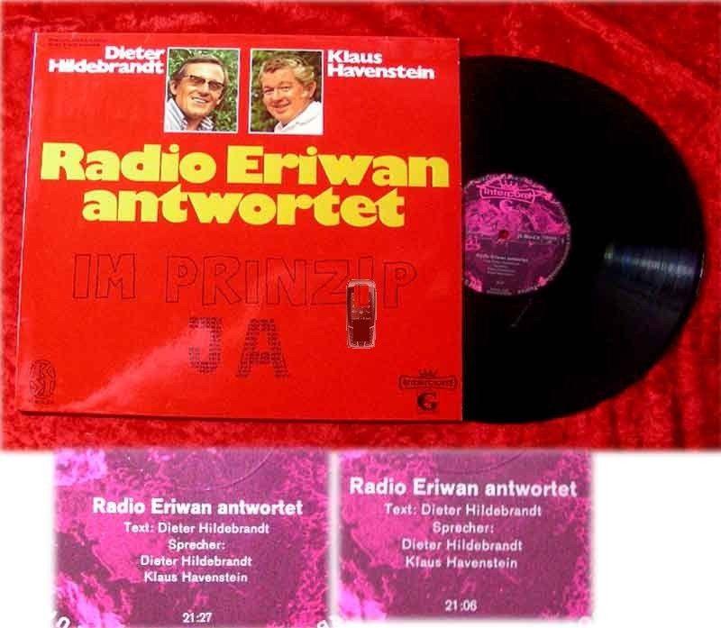 LP Dieter Hilddebrandt Klaus Havenstein Radio Erwian an