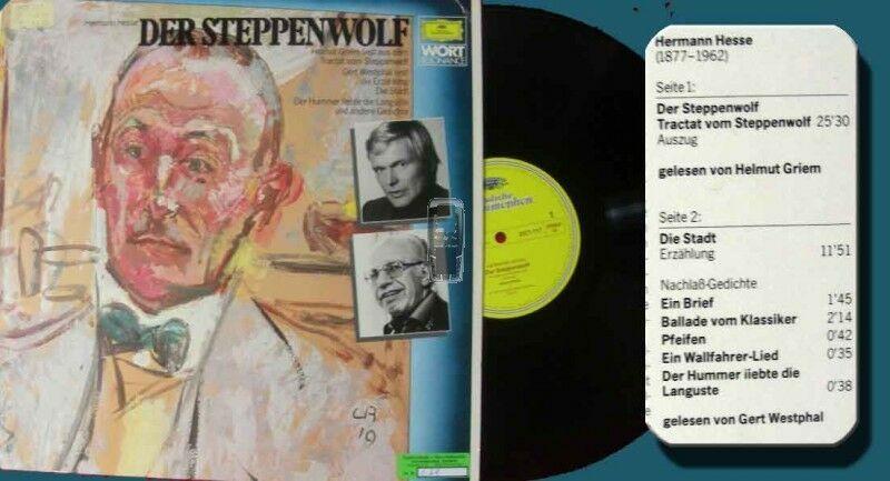 LP Der Steppenwolf - Helmut Griem Gert Westphal