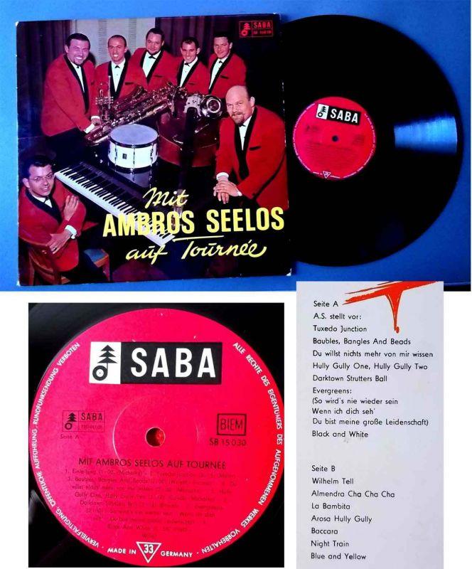 LP Mit Ambros Seelos auf Tournee (Saba SB 15030) D