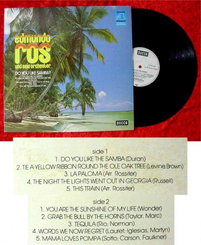 LP Edmundo Ros Do you like Samba 1974
