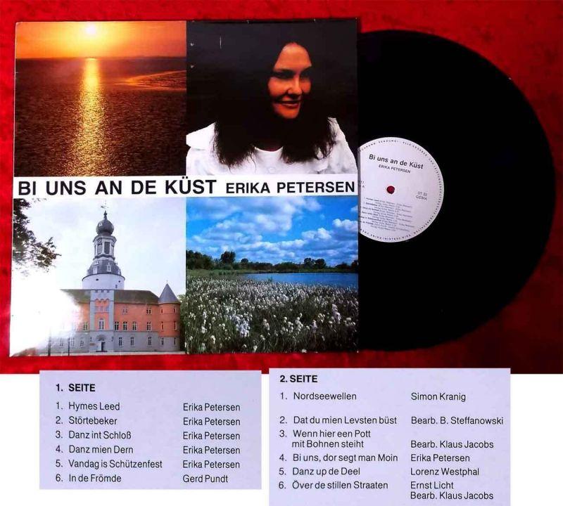 LP Erika Petersen: Bi uns an de Küst (Ehlbeck 50111) D