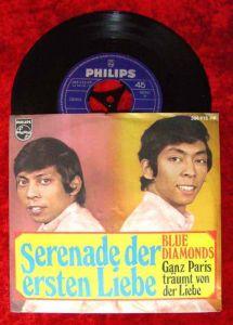 Single Blue Diamonds: Serenade der ersten Liebe (Philips 388 418) D