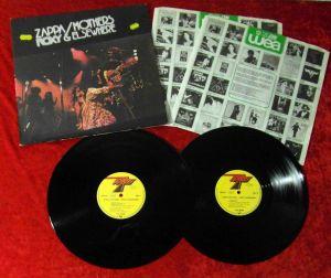 2LP Frank Zappa & Mothers: Roxy & Elsewhere (Discreet DIS 89 200) D 1974