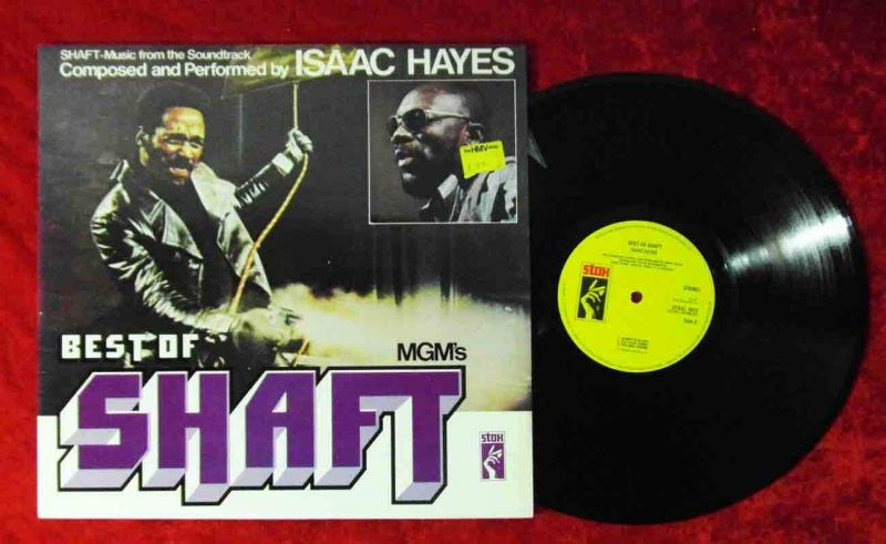 LP Best of Shaft (Stax 5012) Isaac Hayes -  UK
