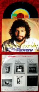 Single Cat Stevens: Lady d´Arbanville (Island 16 116 AT) D 1974