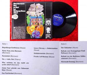 LP Wolf Biermann (Ost) zu Gast bei Wolfgang Neuss (West) (Philips Twen Seri) D68