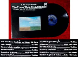 LP The Times They Are A Changin´ Folk Songs of the 60´s (Fontana 6436 130) D
