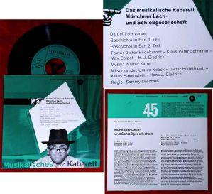 EP Musikalisches Kabarett 2 Münchner Lach-und Schießgesellschaft (Bertelsmann) D