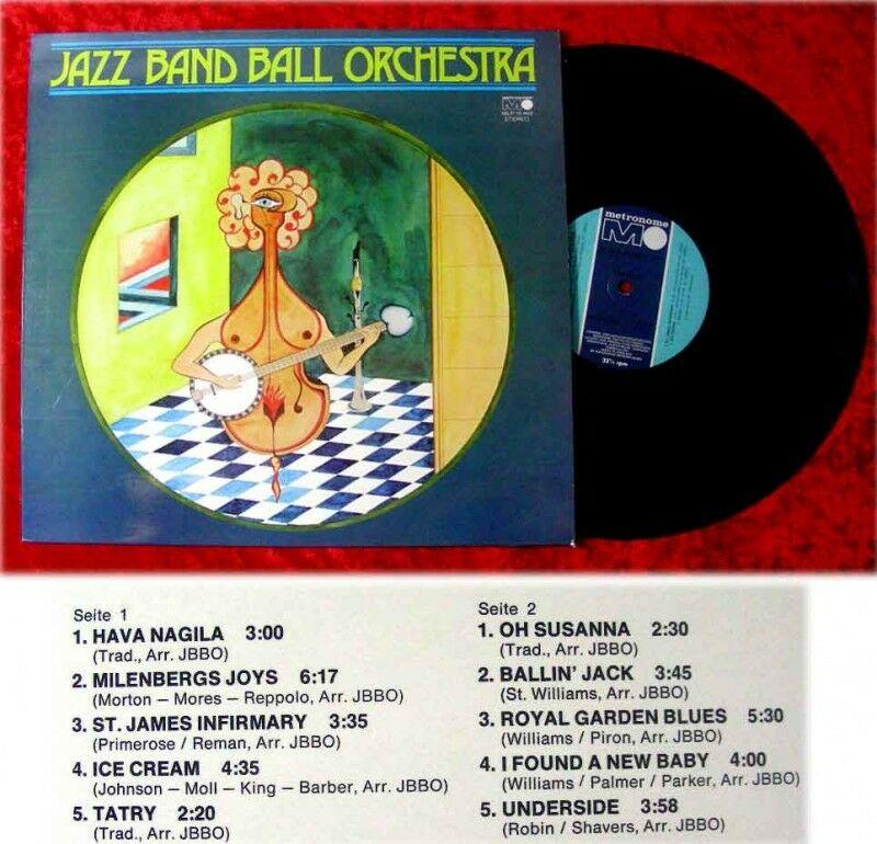LP Jazz Band Ball Orchestra 1973