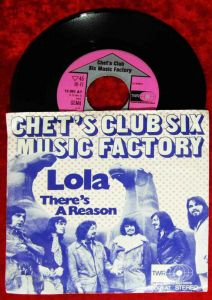 Single Chet´s Club Six Music Factory: Lola (TWR 12 091 AT) D