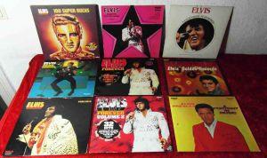 17 Langspielplatten ELVIS PRESLEY - Vinylsammlung -