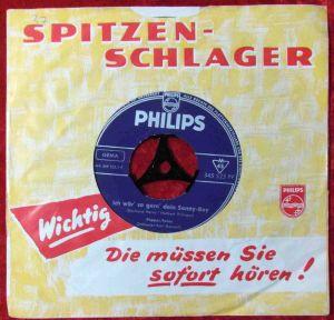 Single Pepper Twins: Ich wär so gern Dein Sonny Boy (Philips 345 523 PF) D 1962