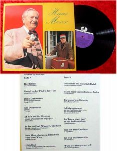 LP Hans Moser Originalaufnahmen seltene Clubsonderaufla