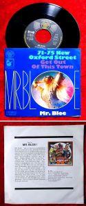 Single Mr. Bloe: 71-75 New Oxford Street (DJM 10 129 AT) D 1971