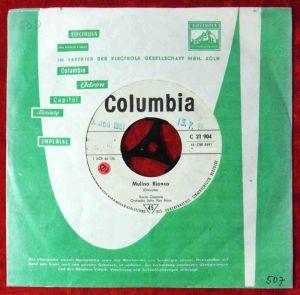 Single Rocco Granata: Gisella (Columbia C 21 904) D 1961 Promo