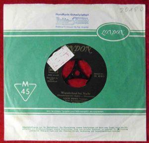Single Louis Prima: Wunderland bei Nacht (London DL 20 371) D Musterplatte