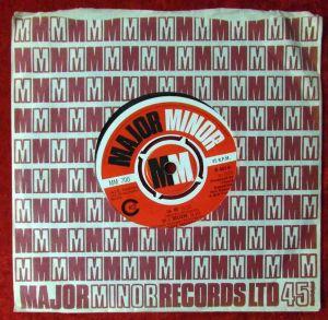 Single Cissy Houston: He / I Believe (Major Minor 700) UK 1970