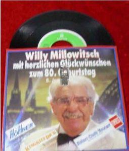 Single Willy Millowitsch zum 80. Geburtstag 08.01.89