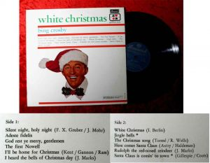 LP Bing Crosby: White Christmas (Brunswick Golden Aces Series DZY 377 007) NL