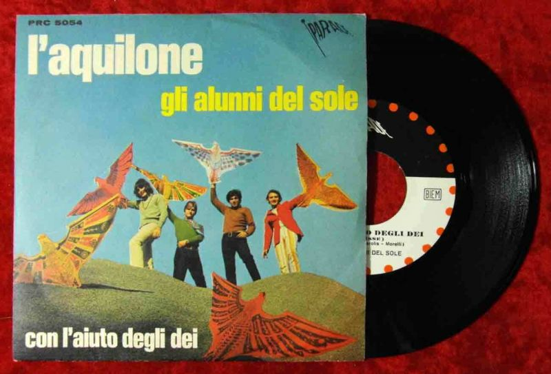 Single Gli Alumni Del Sole: L`Aquilone (Parade PRC 5054) Italy