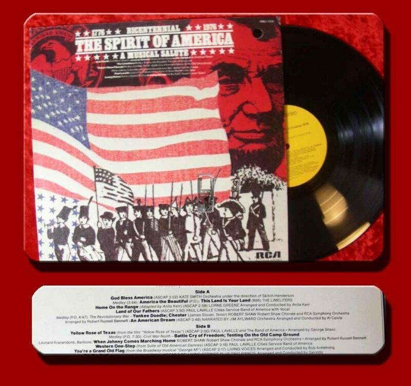 LP 1776 - 1976 The Spirit of America A Musical Salute