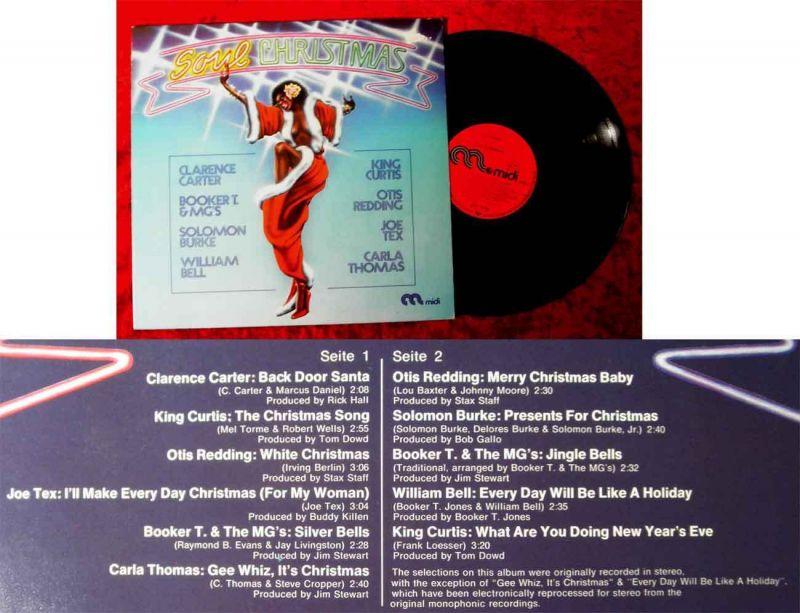 LP Soul Christmas (Midi MID 20 086) D 1974