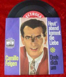 Single Camillo Felgen: Heut abend kommt die Liebe