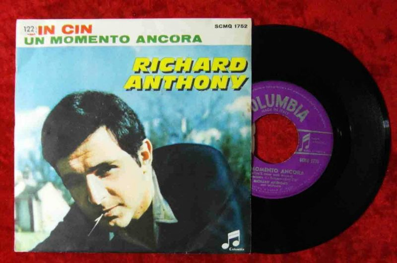 Single Richard Anthony: Cin Cin (Columbia SCMQ 1752) Italy
