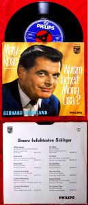 Single Gerhard Wendland: Mary Rose (Ramblin Rose) (Philips 345 529 PF) D 1962