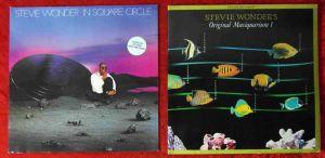 3 Langspielplatten - STEVIE WONDER - Vinylsammlung -