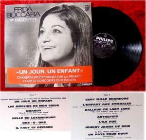 LP Frida Boccara Un Jour En Enfant Grand Prix Eurovisio