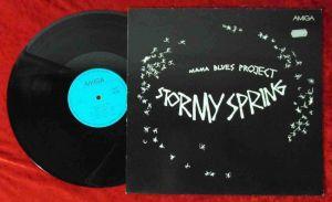 LP Mama Blues Project: Stormy Spring (Amiga 8 56 416) DDR 1989