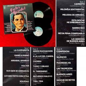 2LP Carlos Gardel: L`Inoubliable Chanteur de Tangos (EMI Pathé 2C 184-81924-5) F