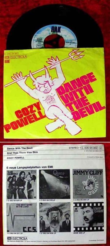 Single Cozy Powell: Dance with the Devil