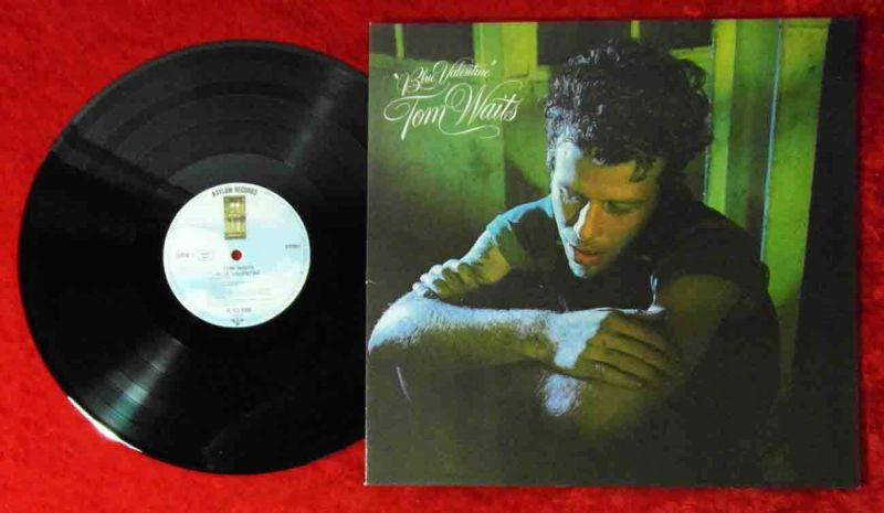 LP Tom Waits: Blue Valentine (Asylum AS 53 088) D 1978