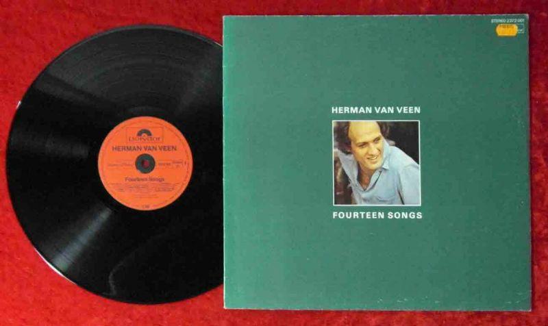 LP Herman van Veen: Fourteen Songs (Polydor 2372 001) D 1980