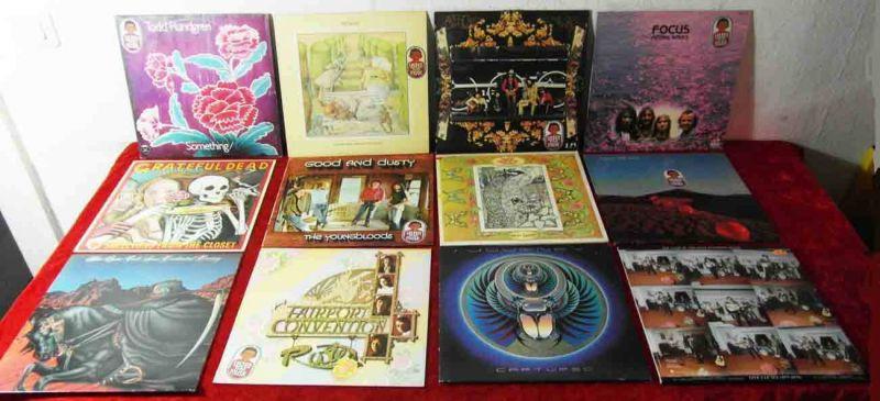 15 Langspielplatten ROCK/POP - JOURNEY GRATEFUL DEAD....usw - Vinylsammlung -