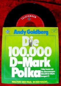 Single Andy Goldberg: Die 100.000 D-Mark Polka