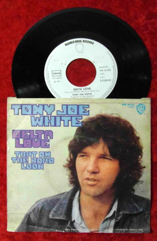 Single Tony Joe White: Delta Love (Warner Bros. WB 16 123) D 1971 Promo