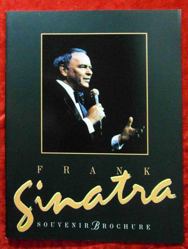 Tourprogramm Frank Sinatra Souvenir Brochure 1992